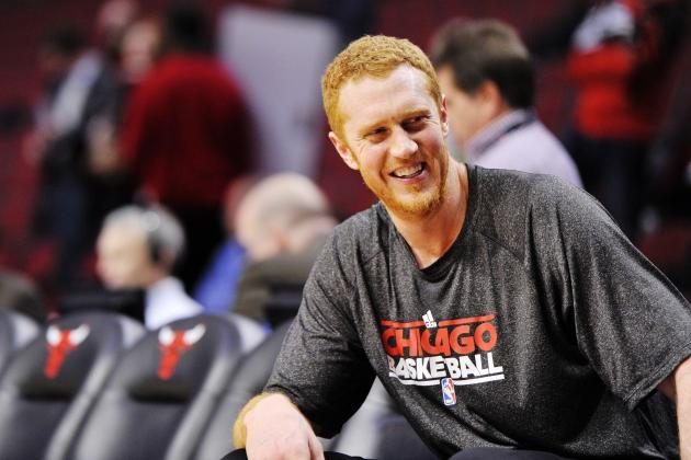 Cult Icon Brian Scalabrine Reportedly in Talks to Join Warriors' Coaching Staff