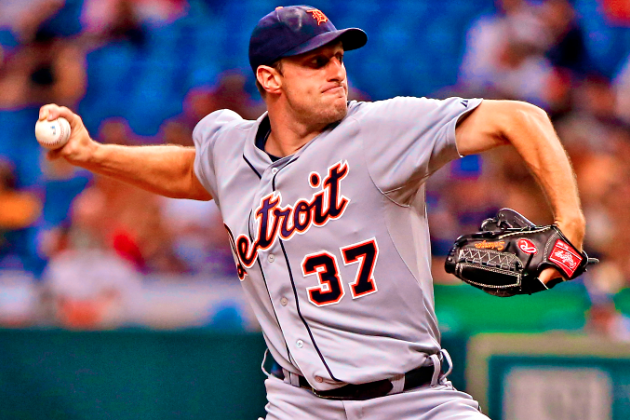 Max Scherzer Extends Record to 12-0 with Victory vs. Rays