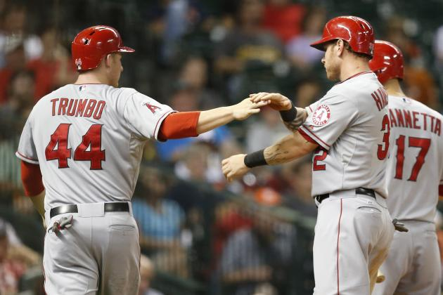 Angels Get Some Late Insurance in 4-2 Win over Astros