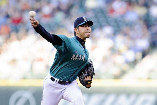 Iwakuma Steps into Mariners' Spotlight