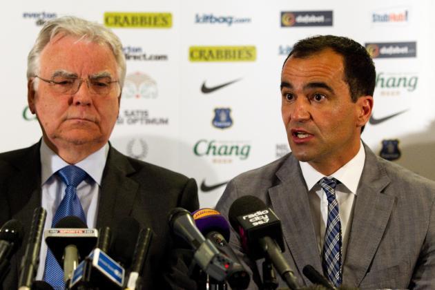 Bill Kenwright Says Roberto Martinez Has Fallen in Love with Everton