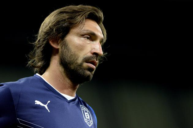 Andrea Pirlo Ruled Out of Confederations Cup 3rd-Place Match With Injury