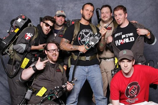 Instagram: CM Punk Hangs out at Comic Con