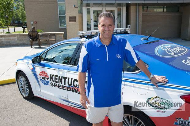 Coach Cal to Drive Honorary Pace Car at Quaker State 400