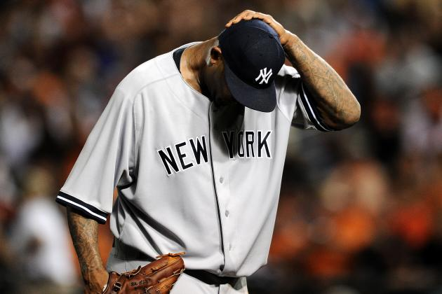 Sabathia, in Bid for 200th Victory, Veers from Dominating to Defeated