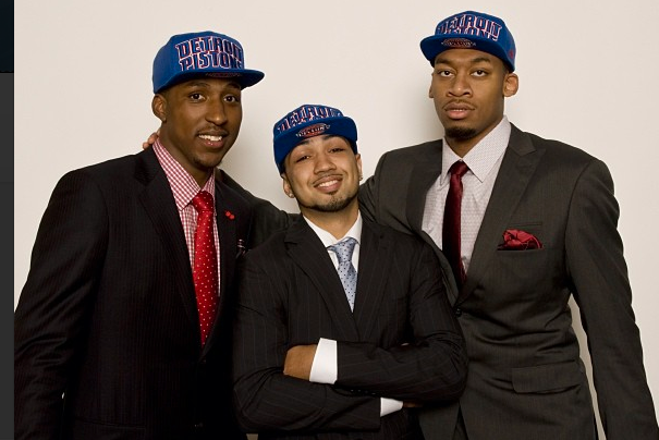 Instagram: Pistons Rookies Introduced to Media