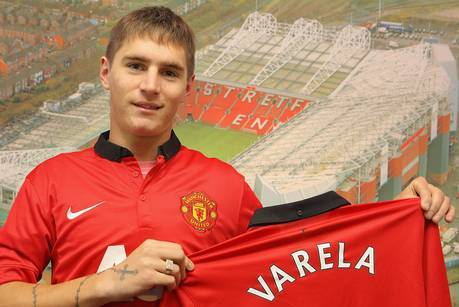 Scouting Manchester United's Guillermo Varela at the FIFA U-20 World Cup