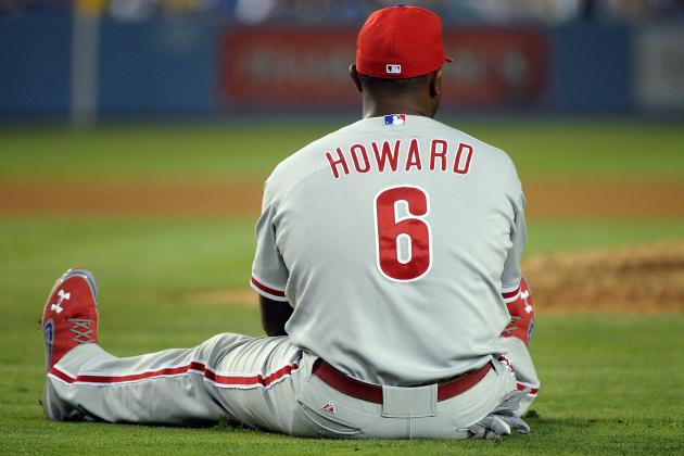 Philadelphia Phillies: Phillies Should Place Ryan Howard on Disabled List