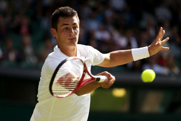 Tomic Ousts No. 9 Gasquet with 4-Set Win