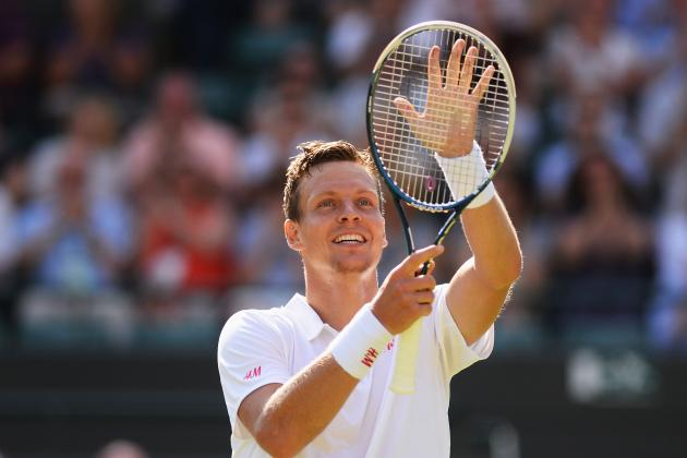 Wimbledon: Tomas Berdych Sets Up Last 16 Clash with Bernard Tomic