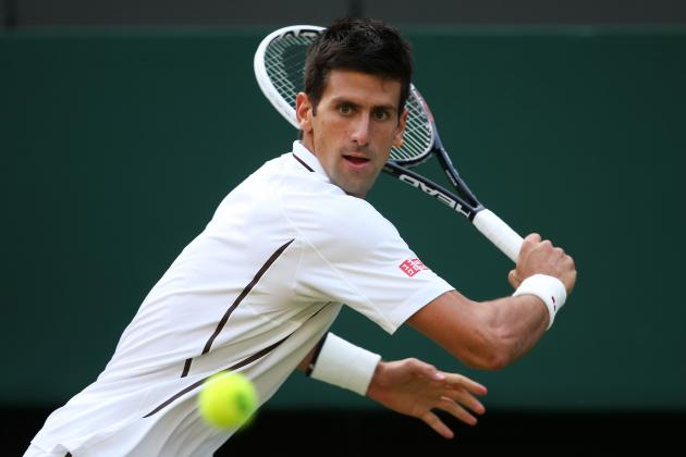Novak Djokovic Defeats Jeremy Chardy to Advance at 2013 Wimbledon