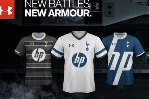 Rumored Leaked Tottenham Hotspur Kits for 2013-14