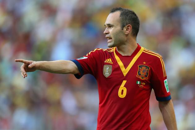 Confederations Cup 2013 Final: Andres Iniesta Will Propel Spain to Victory