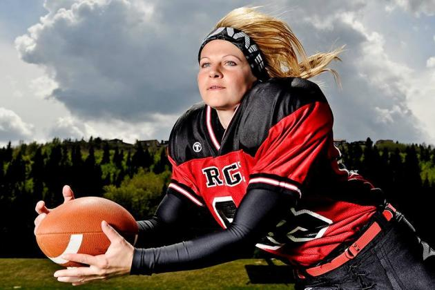Rookie Receiver Pam Buccini part of promising future for Calgary Rage