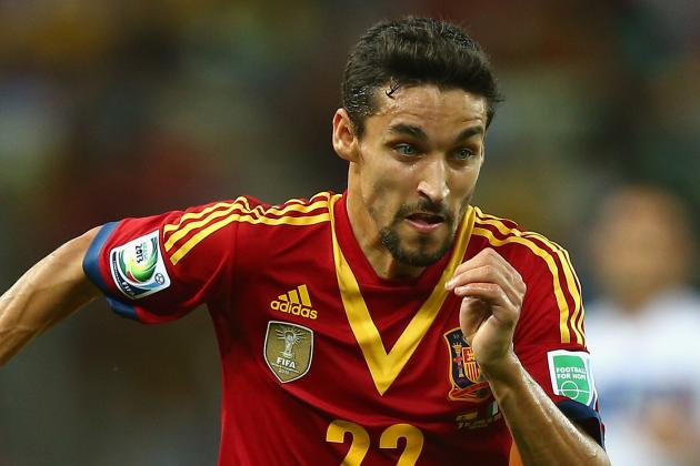 New-Boy Jesus Navas Tipped to Become Man City's Gareth Bale by Iniesta