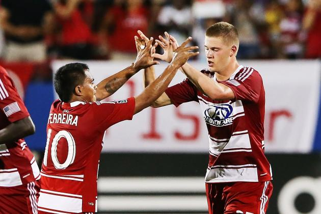 GOAL: Zimmerman's Header Brings Dallas Level
