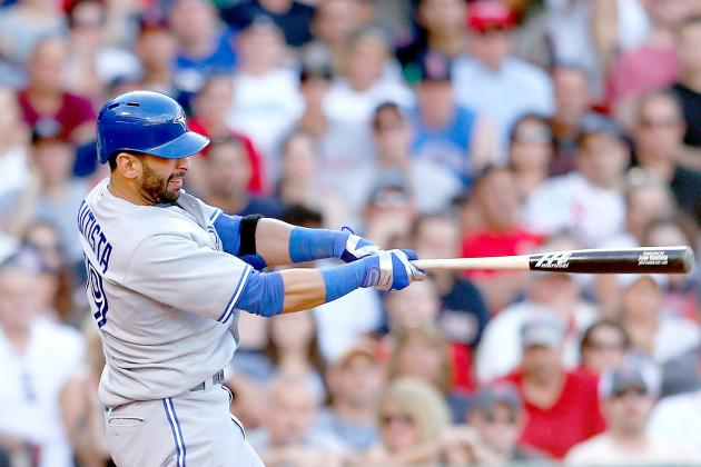 Bautista Gets 200th HR as Jays Top Red Sox