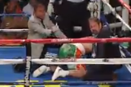 Watch: Golovkin KOs Macklin with a Lethal Body Blow
