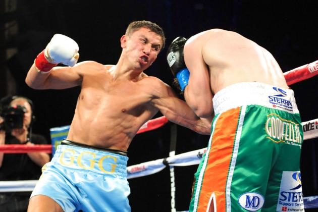Golovkin vs. Macklin: GGG Defeats Mack the Knife by 3rd-Round KO