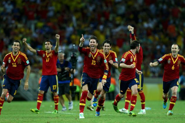 Confederations Cup 2013 Final: Last-Minute Predictions for Brazil vs. Spain