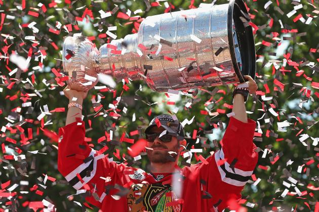Blackhawks Fans Go Ga-Ga over Memorabilia After Stanley Cup Final Win