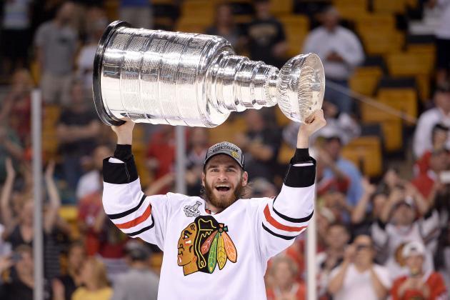Brandon Saad of the Chicago Blackhawks Makes the 2013 NHL All-Rookie Team