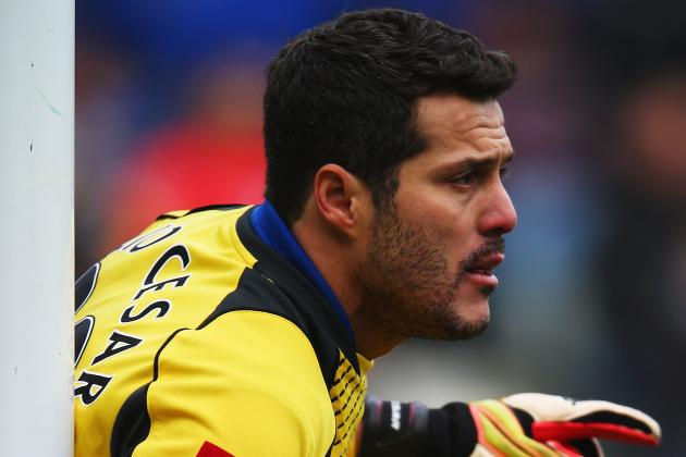 Julio Cesar Set to Leave QPR Says Boss Redknapp