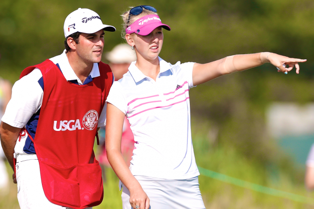 Jessica Korda Fires Caddie in Middle of Round at 2013 US Women's Open