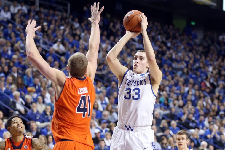 Is Kentucky's Kyle Wiltjer Waffling on Transferring Away from UK?