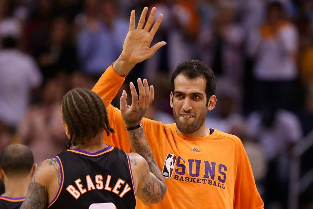 Suns Off-Season: Haddadi Gets Waived