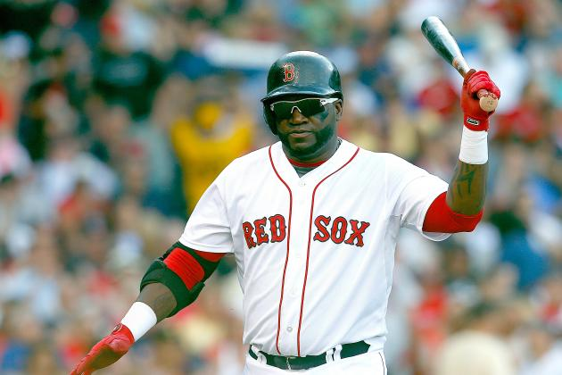 David Ortiz out Today vs. Jays