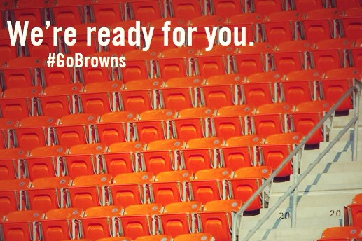 Browns Send Message to Fans