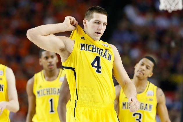 Michigan's Mitch McGary Works on His Game, Faces Big Expectations