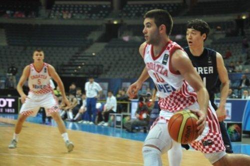 Mislav Brzoja- Croatia's #2 Scorer at FIBA U19 World Championships