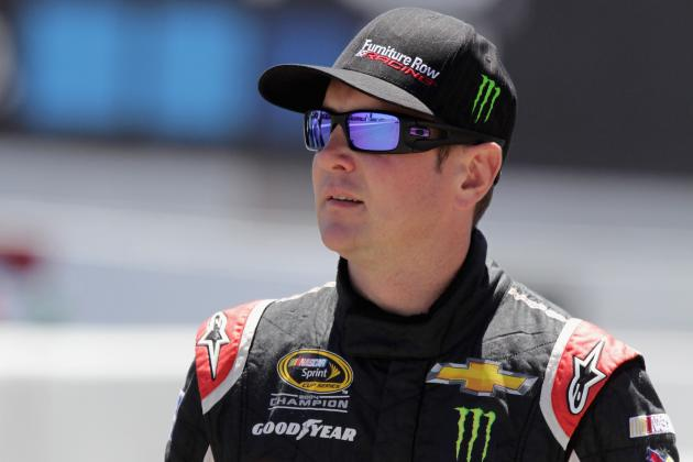 Kurt Busch Takes Blame for Big Crash