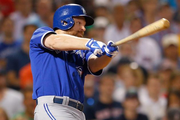 Adam Lind Exits Early with Mid-Back Tightness