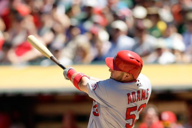 Adams Scratched with Food Poisoning