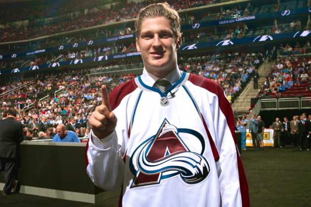 Nathan MacKinnon Drafted by Colorado Avalanche With 1st Pick in 2013 NHL Draft