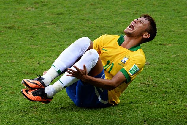 Neymar's Constant Diving Will Hurt His International Appeal