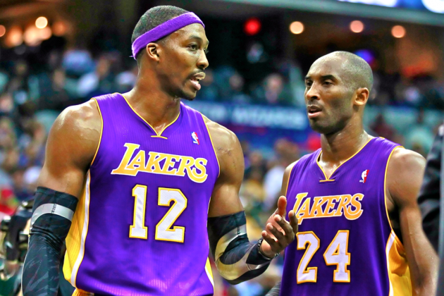 Kobe Bryant Will Reportedly Be Part of Lakers Free-Agent Pitch to Dwight Howard
