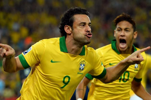 This Facedown Golazo Put Brazil over Spain After Just 90 Seconds
