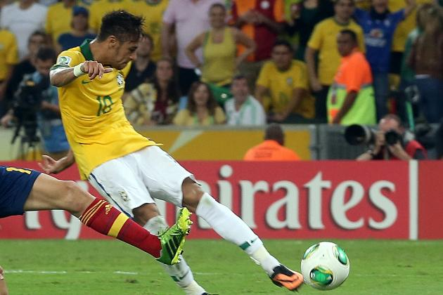 Neymar Scores Golazo Against Spain, Is the Truth