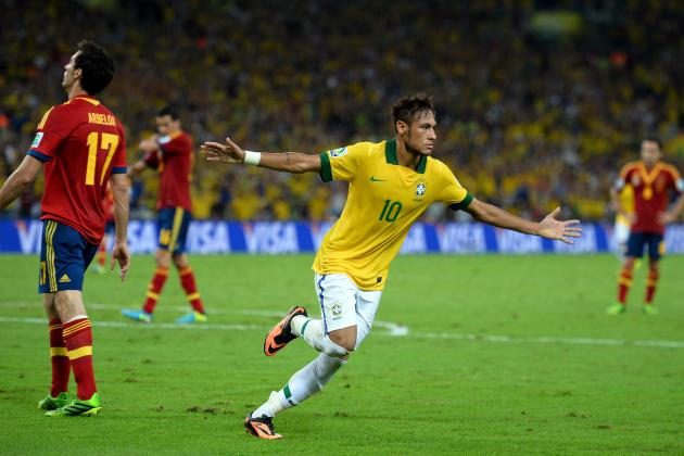 Highlights from Brazil vs. Spain in Confederations Cup Final