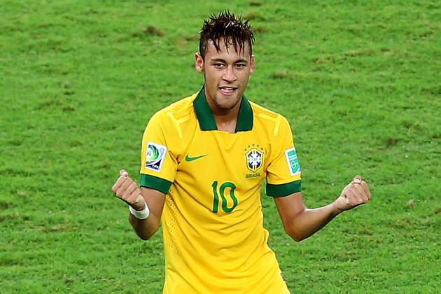 Neymar Wins Confed Cup Golden Ball Award
