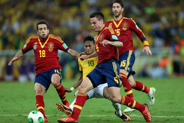 Spain Awarded Confed Cup Fair Play Trophy