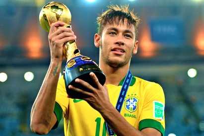 Neymar Named Golden Ball Winner for 2013 Confederations Cup