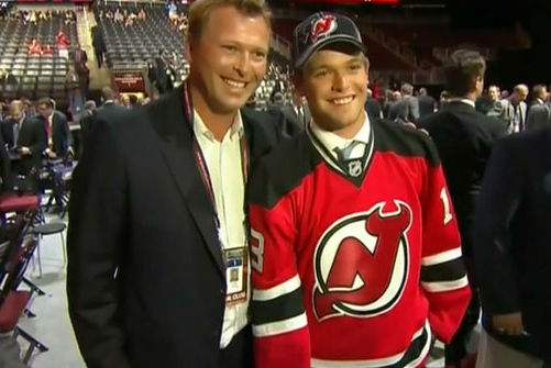 Devils Select Martin Brodeur's Son Anthony Brodeur in Seven Round