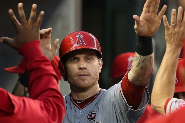 Josh Hamilton Enjoys Angels' 3-1 Victory over Astros