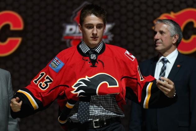 Flames Select Morgan Klimchuk at No. 28 Overall