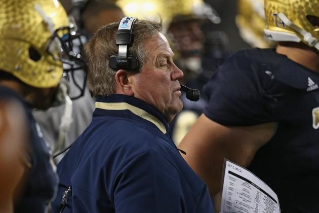 Brian Kelly Has Brought Confidence Back to Notre Dame